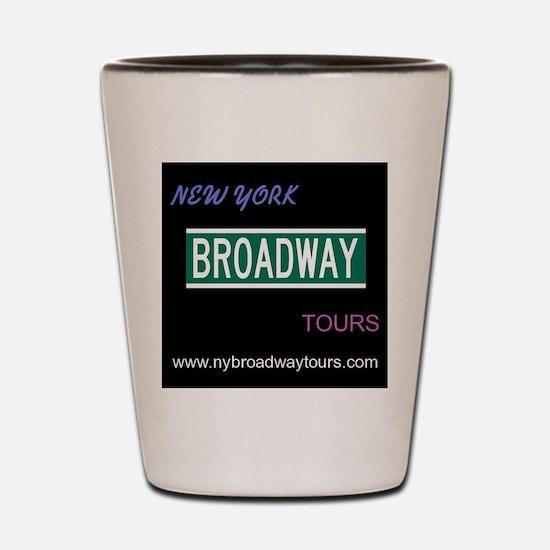 Unique Broadway musicals Shot Glass