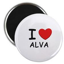 I love Alva Magnet