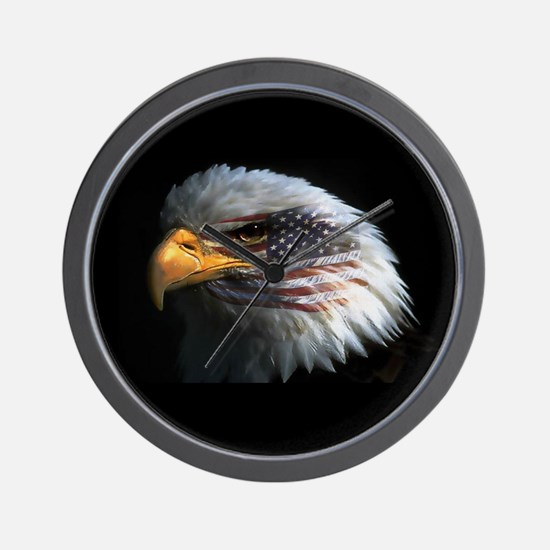 eagle3d.png Wall Clock