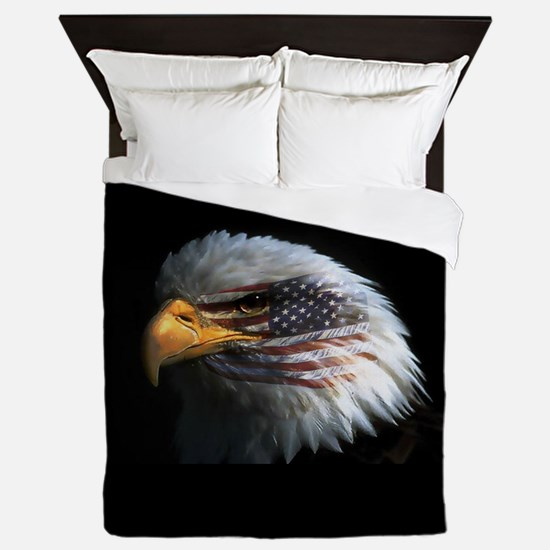 eagle3d.png Queen Duvet
