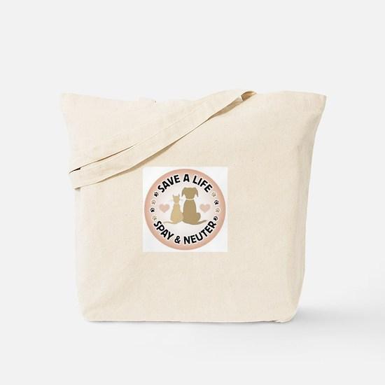 Save A Life Spay & Neuter Tote Bag
