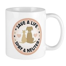 Save A Life Spay & Neuter Mug
