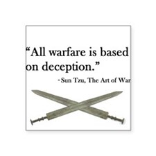 Art of War Sticker