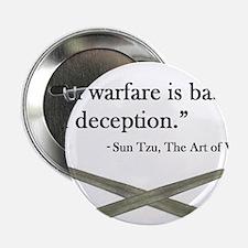 """Art of War 2.25"""" Button"""
