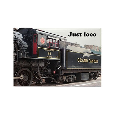 Just loco: steam train engine, Arizona, USA 4 Rect