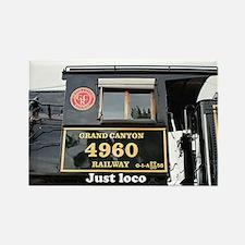 Just loco: steam train engine, Arizona, USA 5 Rect