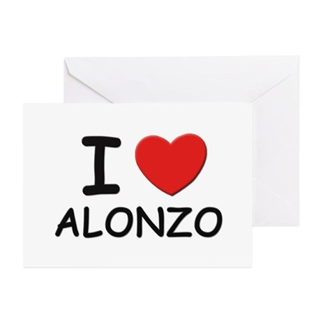 I love Alonzo Greeting Cards (Pk of 10)