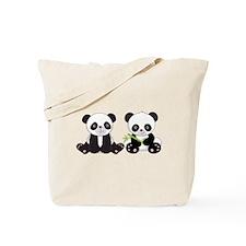 Cute Pandas Tote Bag