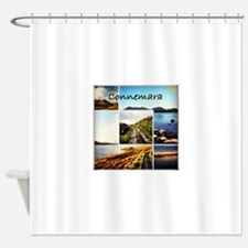 Connemara Collage Shower Curtain