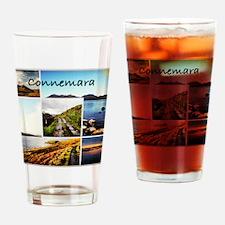 Connemara Collage Drinking Glass