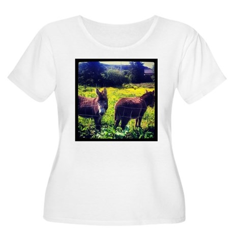 Connemara Donkeys Plus Size T-Shirt