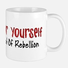 Thinking For Yourself Ultimate Rebellion Mug