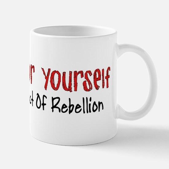 Thinking For Yourself Ultimate Rebellion Mug