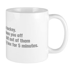 life-should-be-like-hockey-ak-gray Mug