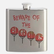 Beware the big balls Flask
