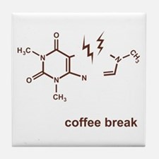 Coffee Break! Tile Coaster