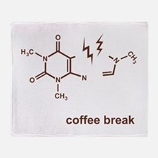 Coffee Break! Throw Blanket
