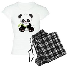 Panda With Bamboo pajamas