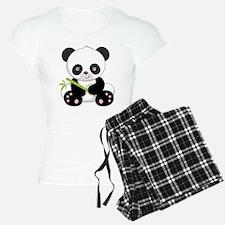Panda With Bamboo pajamas