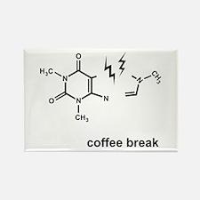 Coffee Break! Rectangle Magnet