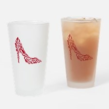shoe silhouette with different shoes Drinking Glas