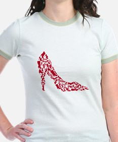 shoe silhouette with different shoes T-Shirt