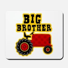 Red Tractor Big Brother Mousepad