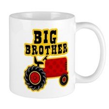Red Tractor Big Brother Small Mugs