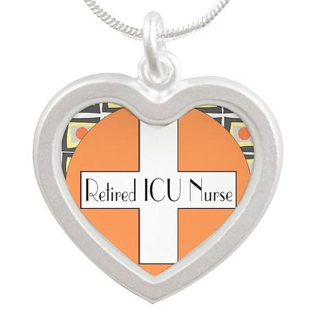 ICU Nurse 4 retired Necklaces