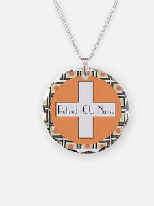 ICU Nurse 4 retired Necklace
