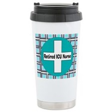 ICU nurse 3 retired Travel Mug