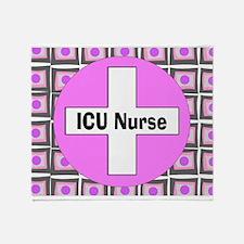 ICU Nurse 2 Throw Blanket
