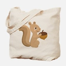 Cartoon Squirrel Tote Bag
