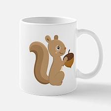 Cartoon Squirrel Small Mug