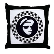 Rude Emblem Throw Pillow