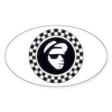 Rude Emblem Oval Decal