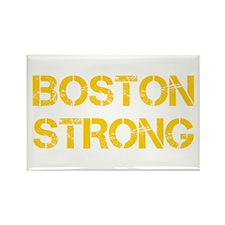 boston-strong-cap-yellow Rectangle Magnet