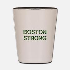 boston-strong-cap-dark-green Shot Glass