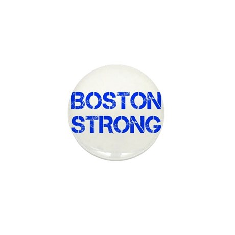 boston-strong-cap-blue Mini Button (100 pack)