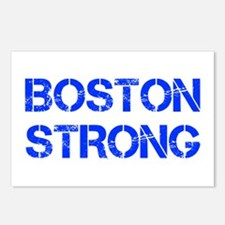boston-strong-cap-blue Postcards (Package of 8)