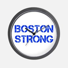 boston-strong-cap-blue Wall Clock
