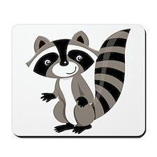 Cartoon Raccoon Mousepad