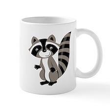 Cartoon Raccoon Small Mug