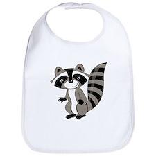 Cartoon Raccoon Bib