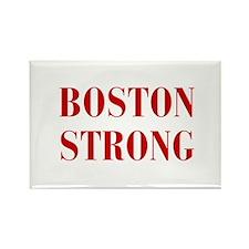 boston-strong-bod-dark-red Rectangle Magnet