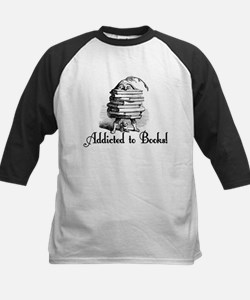 Addicted to Books! Kids Baseball Jersey