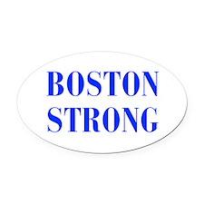 boston-strong-bod-blue Oval Car Magnet