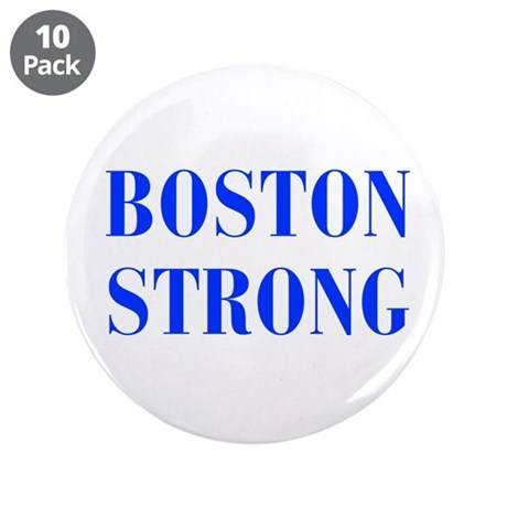 """boston-strong-bod-blue 3.5"""" Button (10 pack)"""