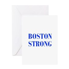boston-strong-bod-blue Greeting Card