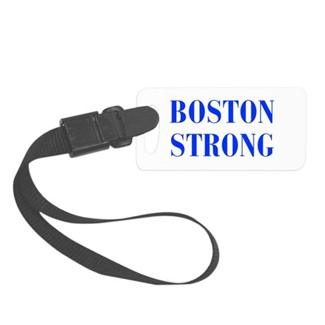 boston-strong-bod-blue Luggage Tag